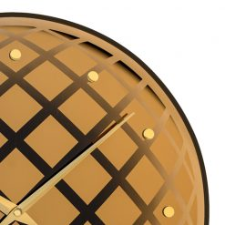 Zoomed in of Pendula Round NeXtime Wall Clock