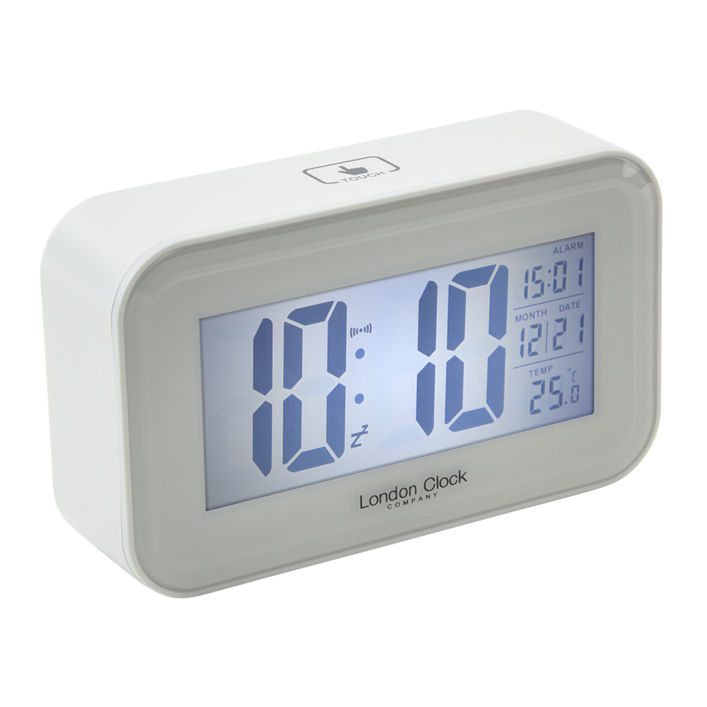Buy Digital Alarm Clock Rectangle Online Purely Wall Clocks