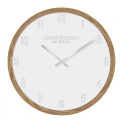 Klokke wooden wall clock with lovely wooden frame