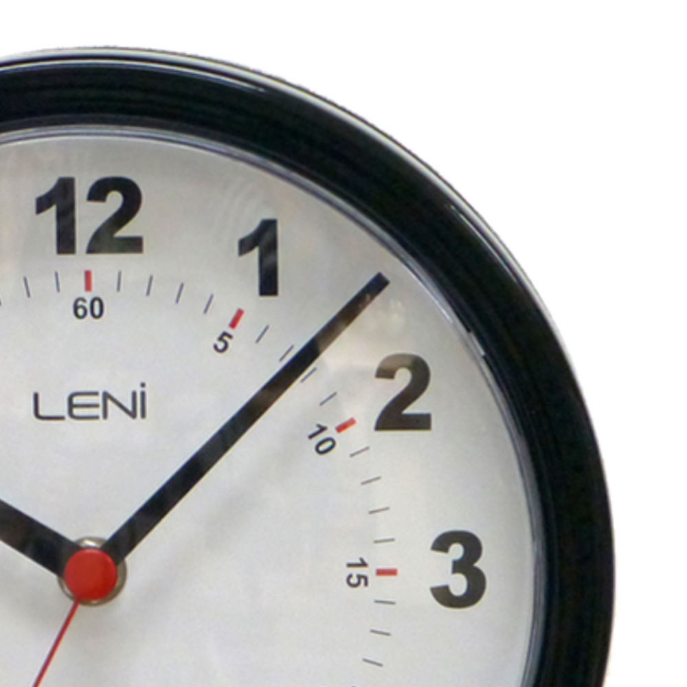 Buy leni station clock 20cm black online purely wall clocks leni station clock 20cm black 62030blab close up amipublicfo Image collections