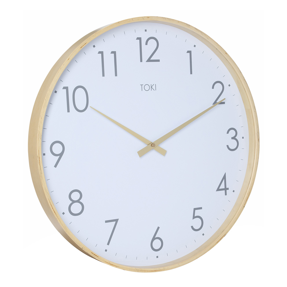 Buy large wall clocks online purely wall clocks photo of large wooden clock with white face amipublicfo Images