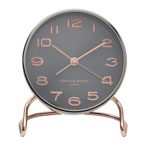 Isabelle Gunmetal Silent Alarm Clock Purely Wall Clocks Reviews On Judge Me